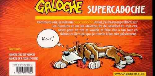 Galoche supercaboche (Yvon Brochu)