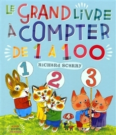 Grand livre à compter de 1 à 100-Le (Richard Scarry)