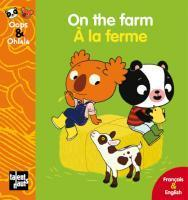 On the farm - A la ferme (Amélie Graux)