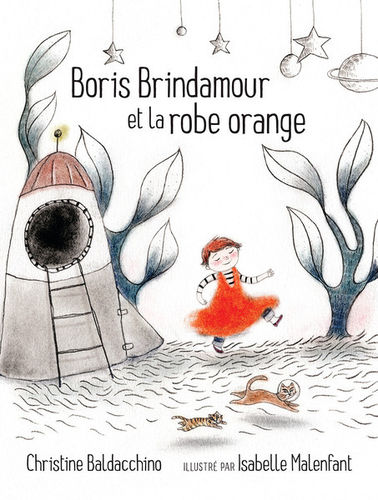 Boris Brindamour et la robe orange (Christine Baldacchino)